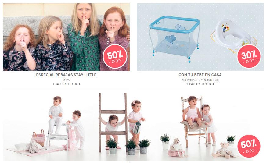 ventas privadas moda bebe