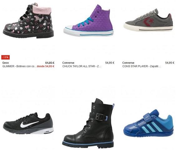 Zalando zapatos niño y niña