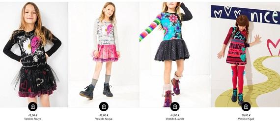 Desigual kids vestidos