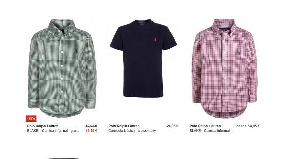 Ralph Lauren polos y camisas para niños