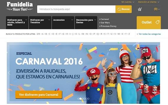 Disfraces de carnaval 2016