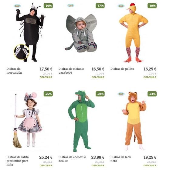 disfraces de carnaval baratos y originales