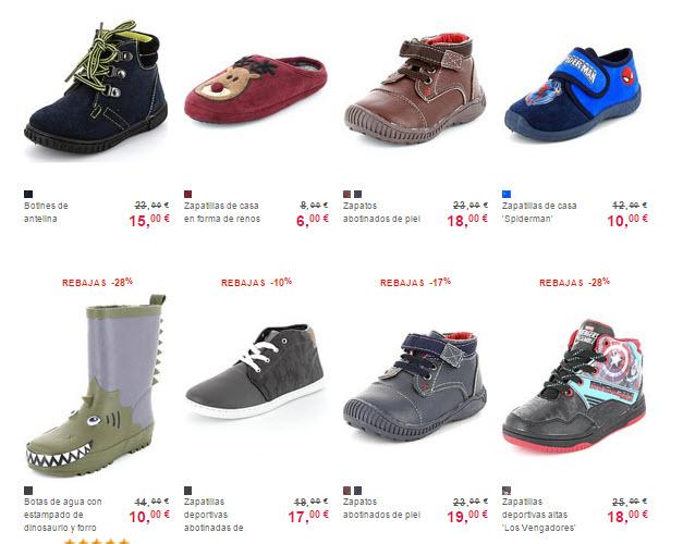 rebajas kiabi zapatos