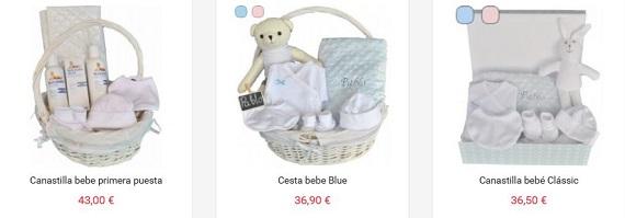 canastillas de bebé precios