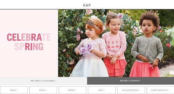 Gap 2016 online ropa sudaderas y camisetas para ni os for Gap online espana