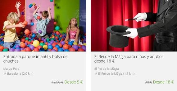planes de ocio con niños online