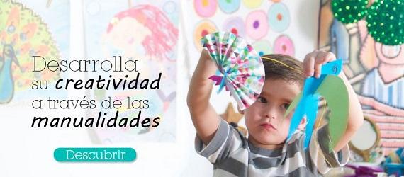 manualidades para niños a domicilio