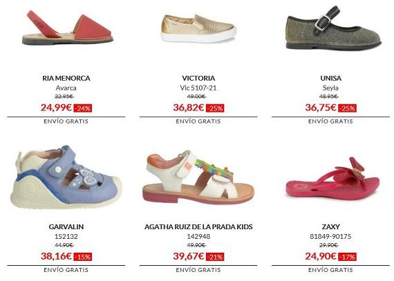 modalia zapatos para niños
