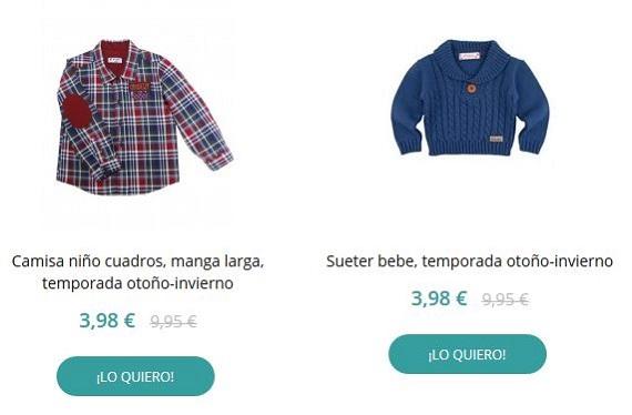modaminis ropa infantil