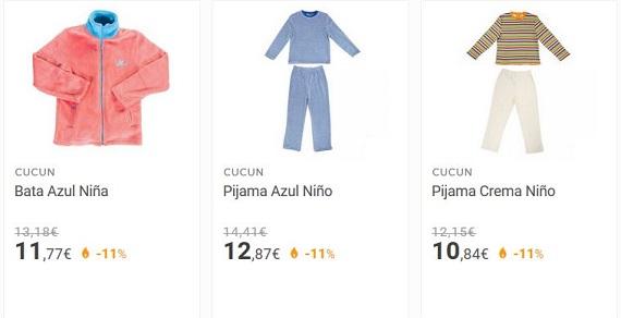 pijamas para niños de invierno y de verano
