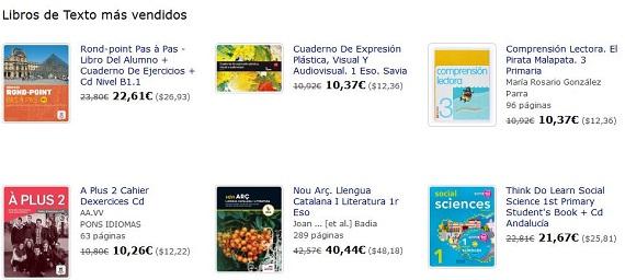 libros de texto urgentes online